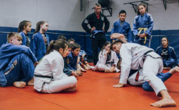 Brazylijskie Jiu Jitsu Junior